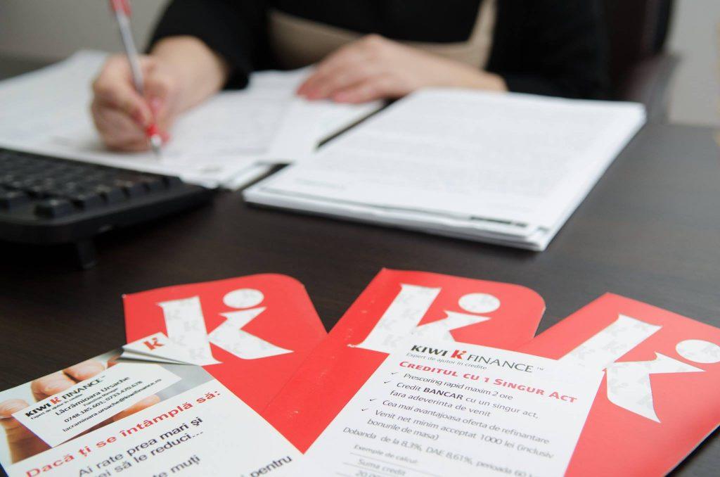 Iti oferim o solutie personalizata de finantare, te asistam la intocmirea dosarului de credit, sustinem dosarul tau la banca pe care am identificat-o ca fiind cea mai buna pentru tine si iti garantam suportul nostru pana la accesarea finala a creditului. Kiwi Finance Iasi - Partenerul strategic al bancilor.